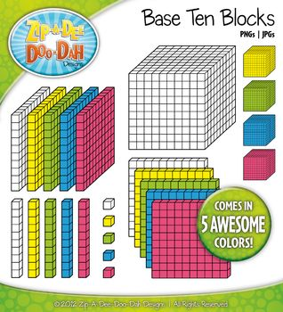 Cube clipart place value Blocks Clip Base about Dee
