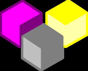 Cube clipart purple Free  Art clip Cubes