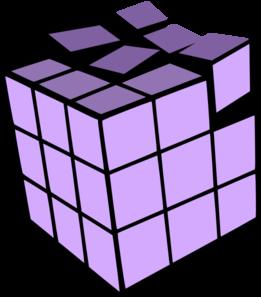 Cube clipart purple Cube Clipart cube clip 3d