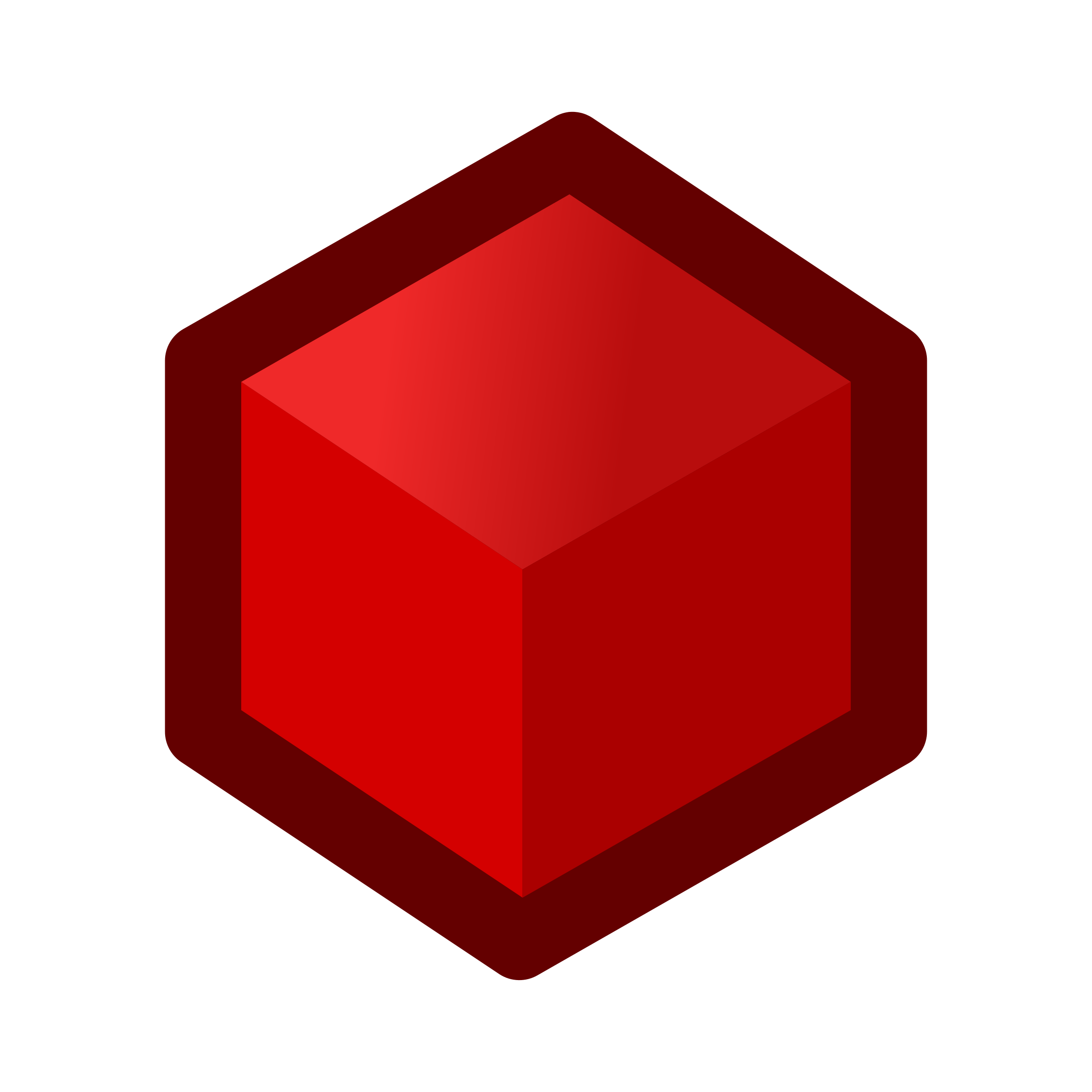 Cube clipart red Cube cube icon Clipart red