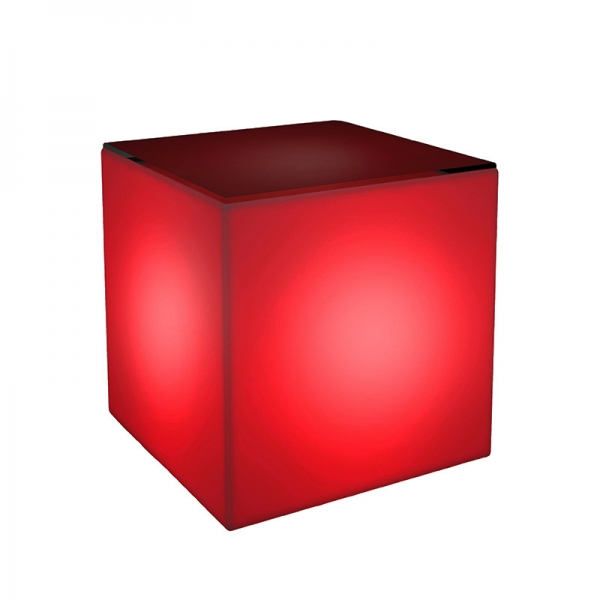 Cube clipart red Red CORTevents Edge Cube Table