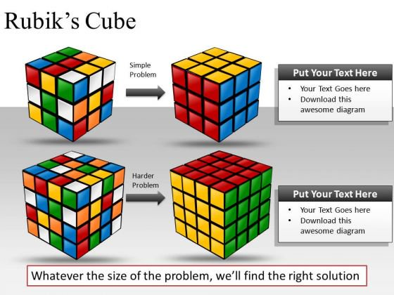 Cube clipart rubicks Graphics  Slides PowerPoint solution_rubiks_cube_powerpoint_slides_and_ppt_clipart_graphics_1