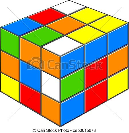 Cube clipart rubicks Illustration  Cube Rubiks Rubiks