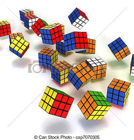 Cube clipart rubicks Clipart of Rubik 152 cube