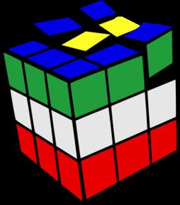Cube clipart rubicks Vector  Colored 2 Art