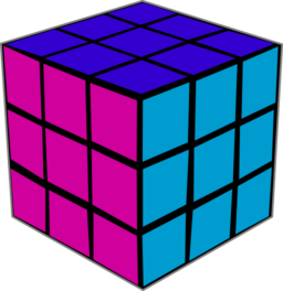 Cube clipart rubicks Public 128 Rubiks 135 with