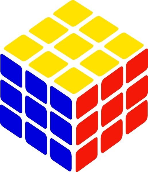 Cube clipart rubik's cube Cube clip art in art