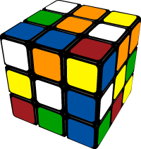 Cube clipart rubik's cube Rubik office in Clipart drawing;