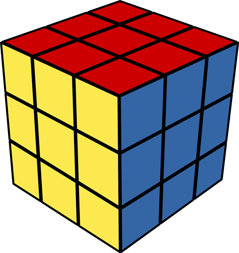 Cube clipart rubik's cube Rubik's Clip Public Cube Art