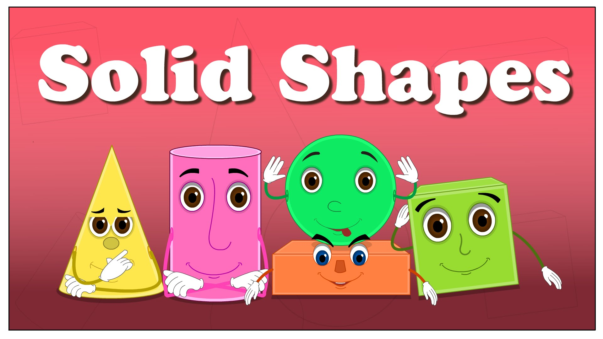 Cone clipart solid figure Kids Shapes Shapes for Solid