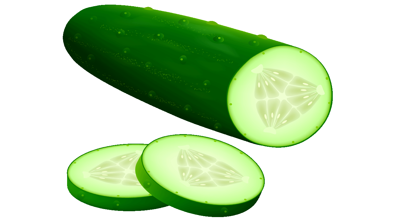 Cucumber clipart Pictures Fruit Names With Cucumber