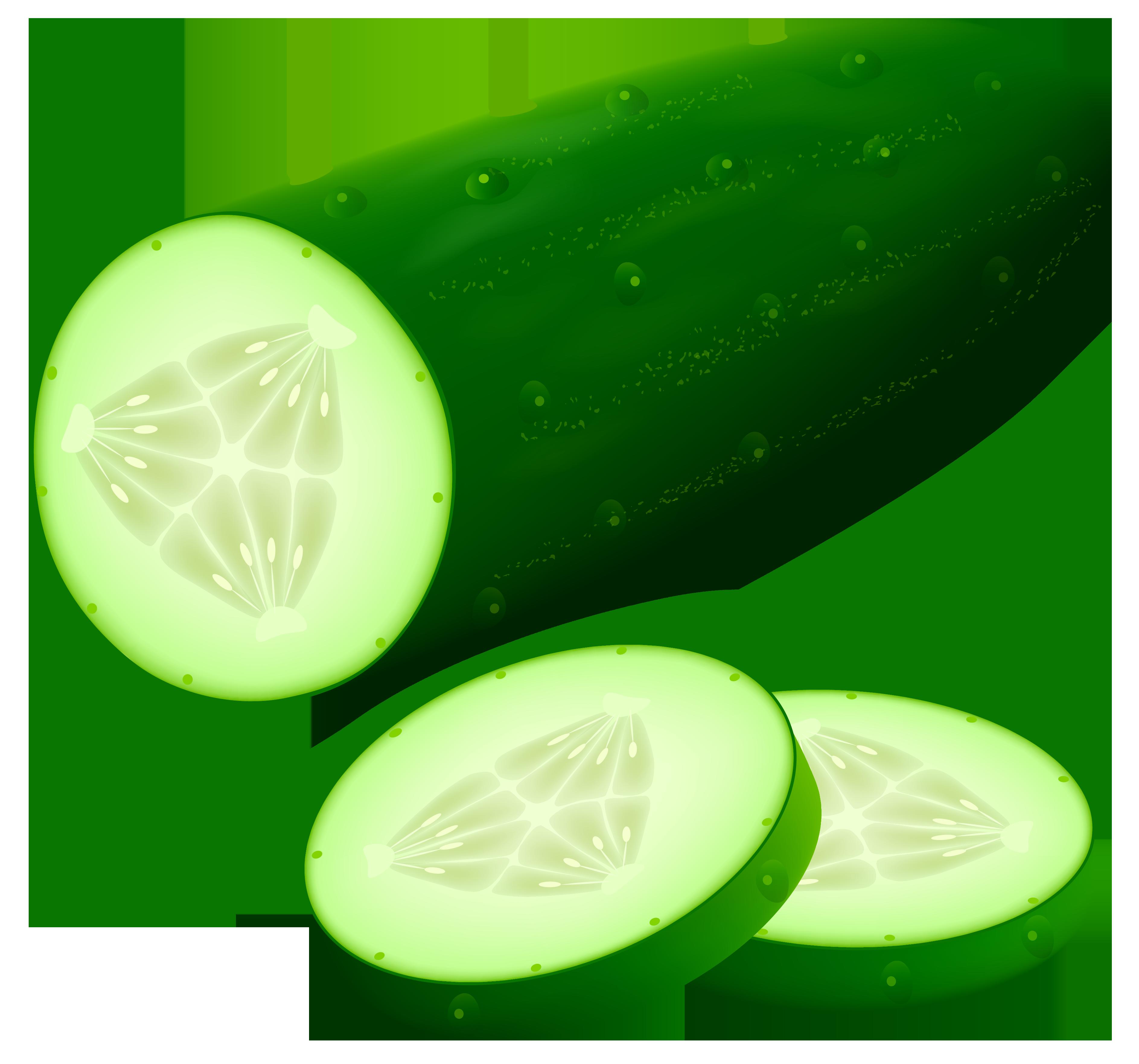 Vegetable clipart cucumber ClipartAndScrap Cucumber Art Clip art