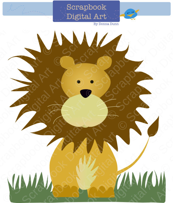 Cuddle clipart adorable Art lion! adorable Leon cuddly