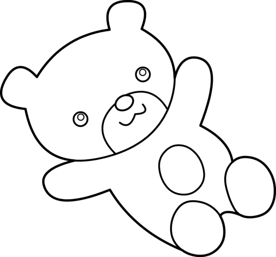 Cuddle clipart black and white #3