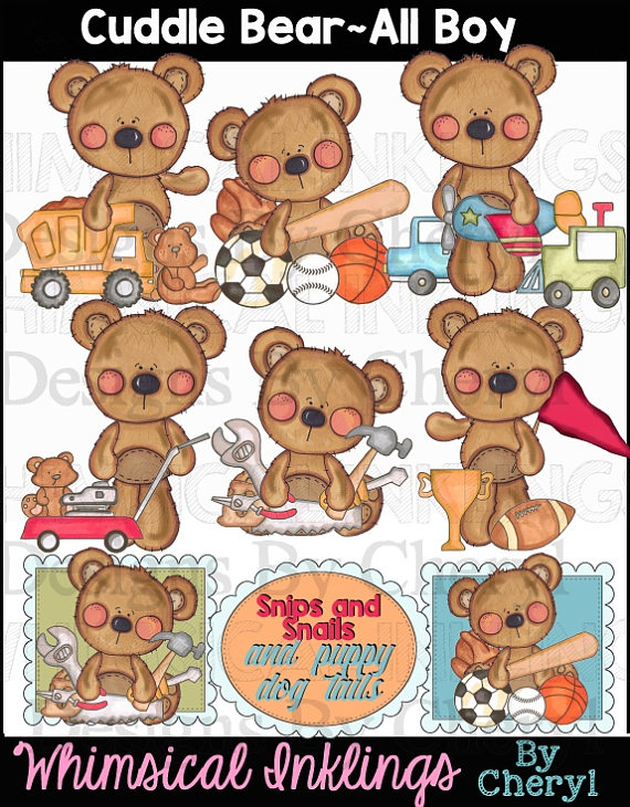 Cuddle clipart boy Download Download  Cuddle Bears