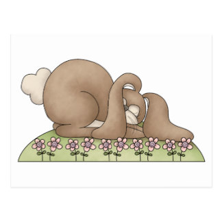 Cuddle clipart brown bunny #5