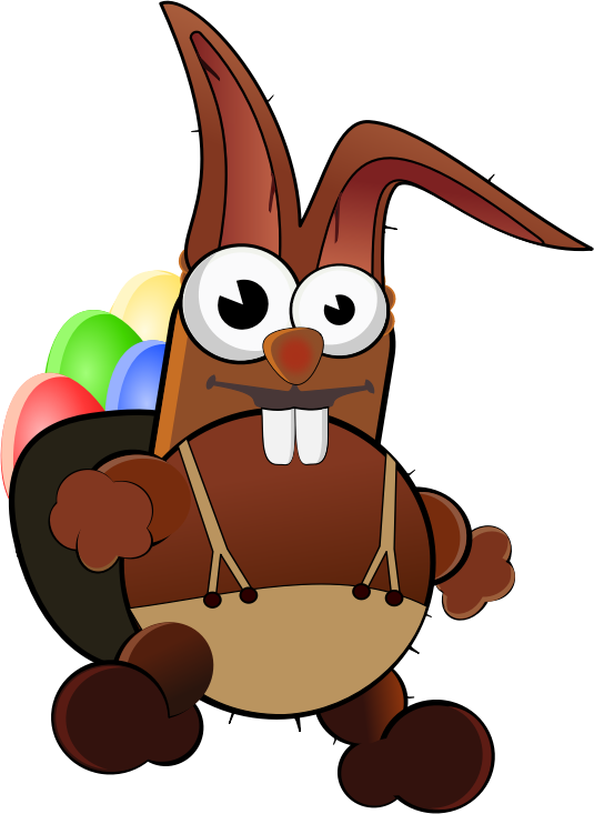 Cuddle clipart brown bunny #8
