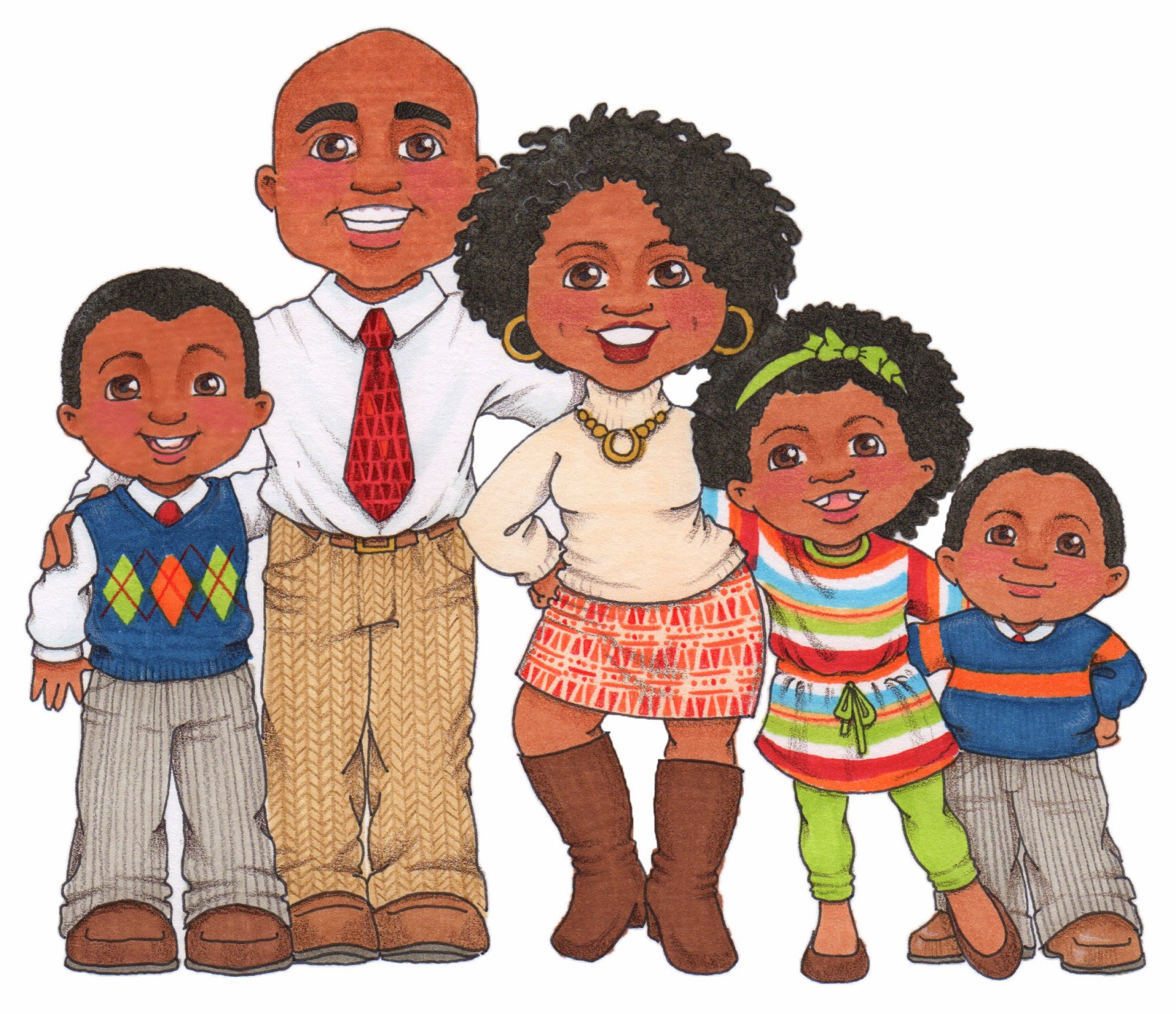 Gallery clipart lds family Family Black Free Family