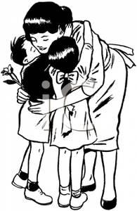 Cuddle clipart family hugs #7