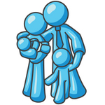 Cuddle clipart family hugs Hugging have Family Hugging Cartoon