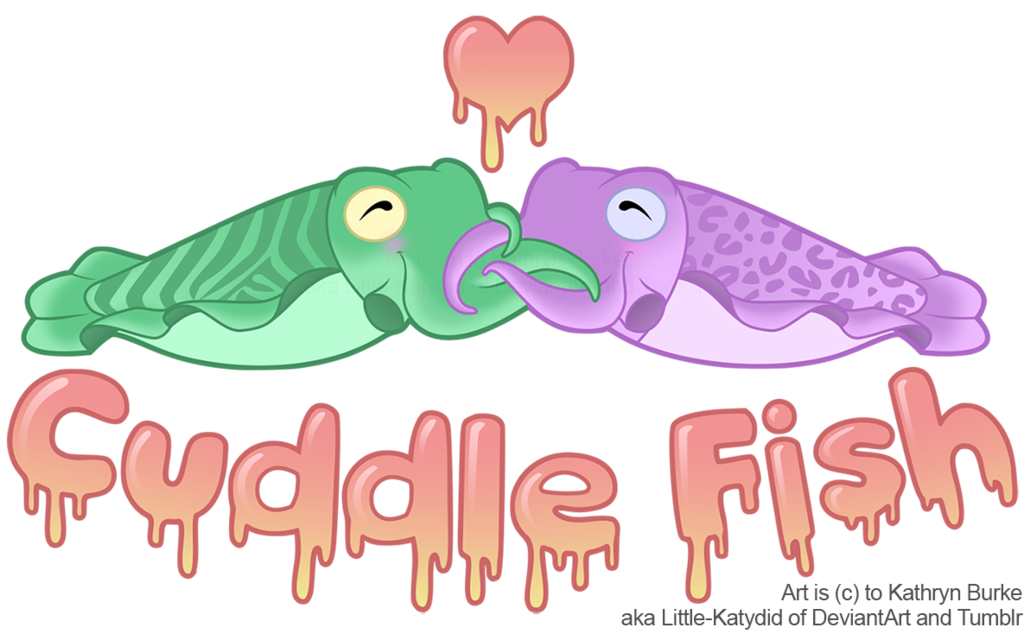 Cuddle clipart fish Little by Fish! Cuddle on