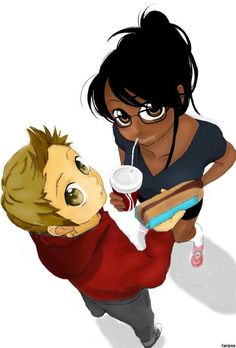 Cuddle clipart interracial couple #BWWM  ArtAdorable #lovecrossesborders #WMBW