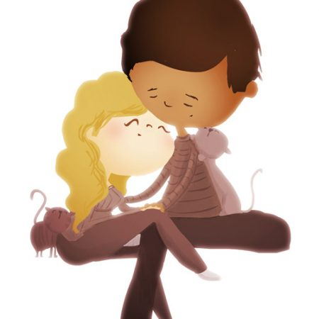 Cuddle clipart interracial couple Art Nidhi Archives The of