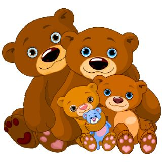 Brown Bear clipart teddy bear FRIENDS WITH & TEDDIES about