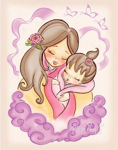 Cuddle clipart madre Hija de about Álbumes e