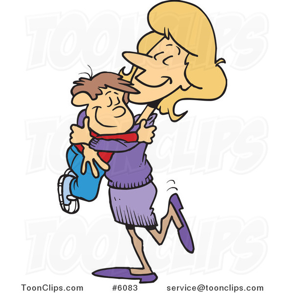 Cuddle clipart mother son The mother mom cute leishman;