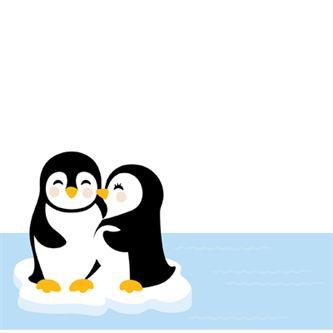 Cuddle clipart penguin love Holiday Penguins Penguin Couple best