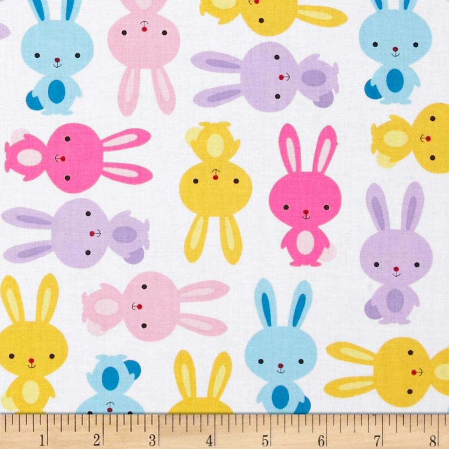 Cuddle clipart spring bunny Bunnies zoom Urban Zoologie Fabric