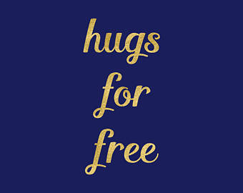 Cuddle clipart two Old Share Hugs Clipart Free