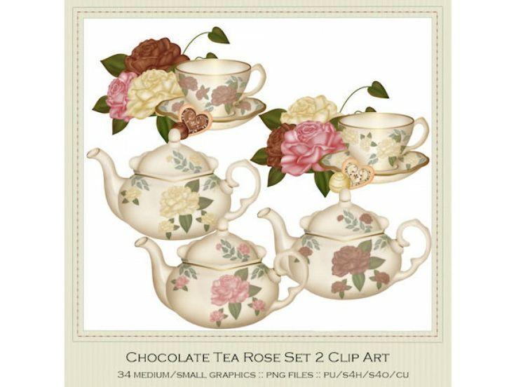 Cuddle clipart two Art Rose Clip Sets 125
