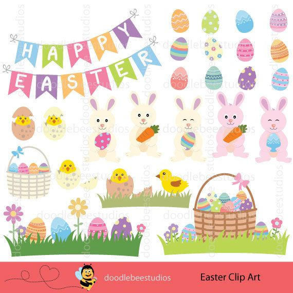 Cuddling clipart Art PRETTY Easter Clip EASTER