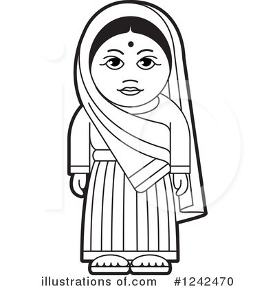 Culture clipart black and white (RF) Royalty Lal by Indian