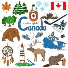 Culture clipart child Printable flags Canada  countries