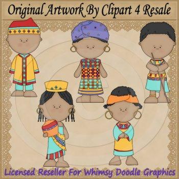 Culture clipart child Clipart $2 by Clipart Resale