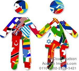 Culture clipart different Information and C diplomacy American