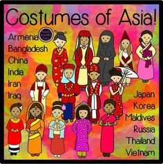 Culture clipart diverse student Clip the Art all costumes