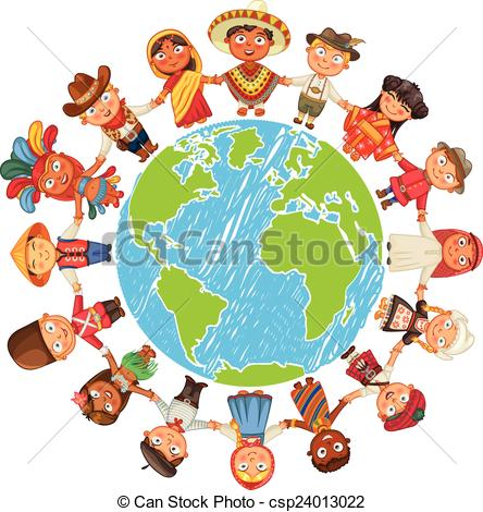 Culture clipart earth Day day Illustration Different