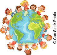 Culture clipart earth Earth Day Vector Nationalities Different
