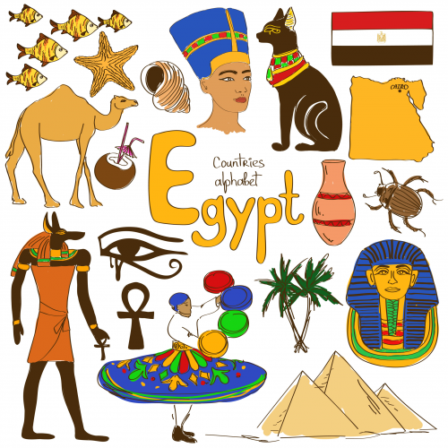 Culture clipart flags African Egypt Archives Map com