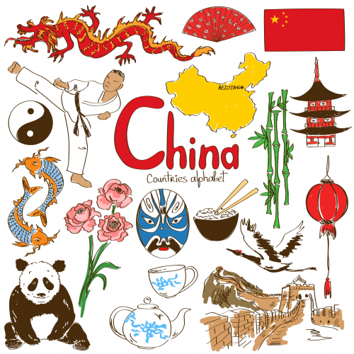 Culture clipart flags Asian China Archives Map com
