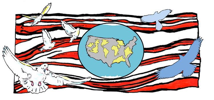 Culture clipart earth World: American painting American America