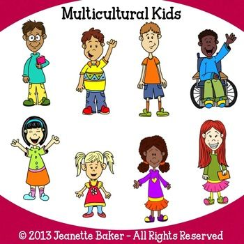 Other clipart for kid Best Clip Kids on Multicultural