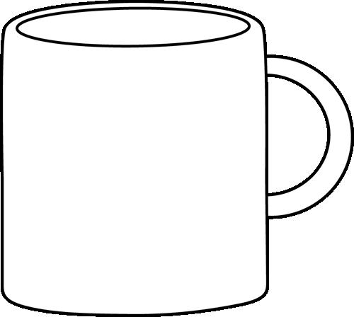 Mug clipart black and white Black and Black Mug White
