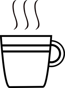 Coffee clipart black and white Cup Coffee collection clipart Another