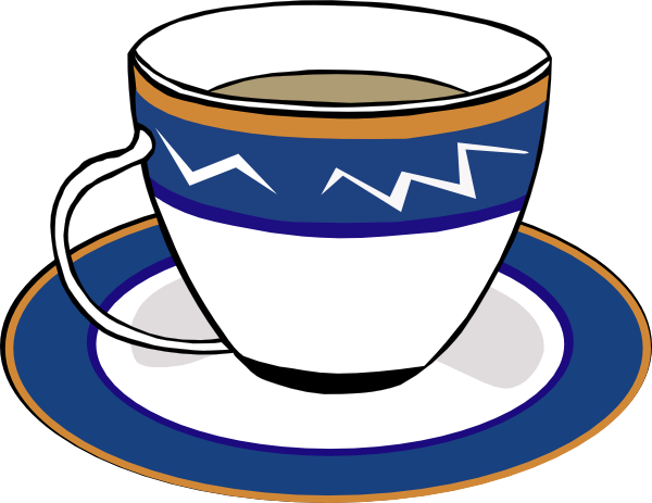 Teacup clipart coffee morning A Clker at A as: