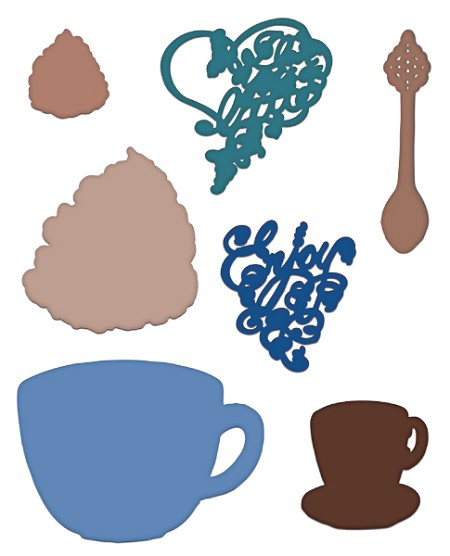 Cup clipart coffee talk Talk Creations Collection Talk Die